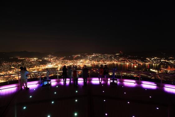 稲佐山からの夜景1