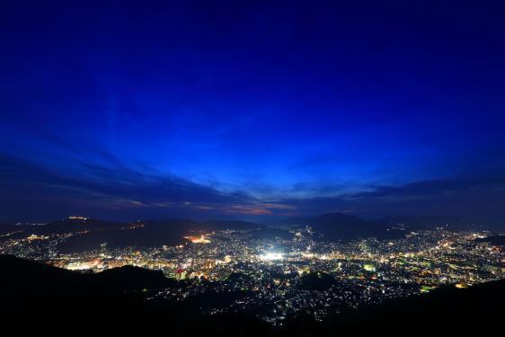 金比羅山からの夜景