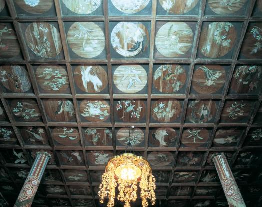 明星院の天井画
