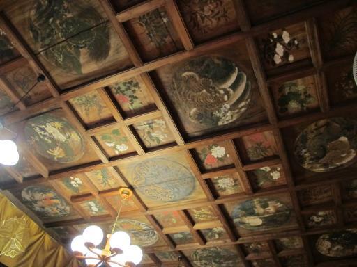 宛陵寺の天井絵1