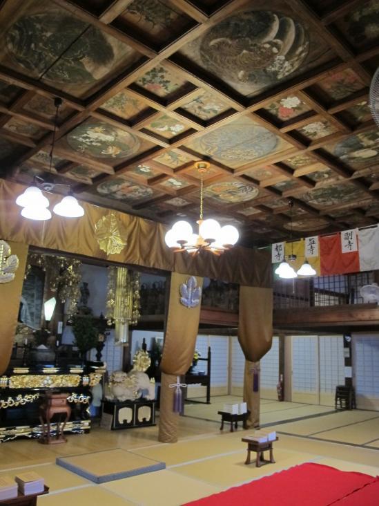 宛陵寺の天井絵2