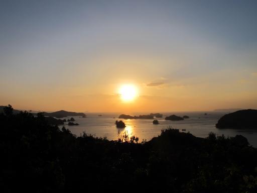 九十九島の夕景2