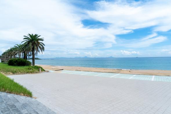 スゲ浜海水浴場(宇久)