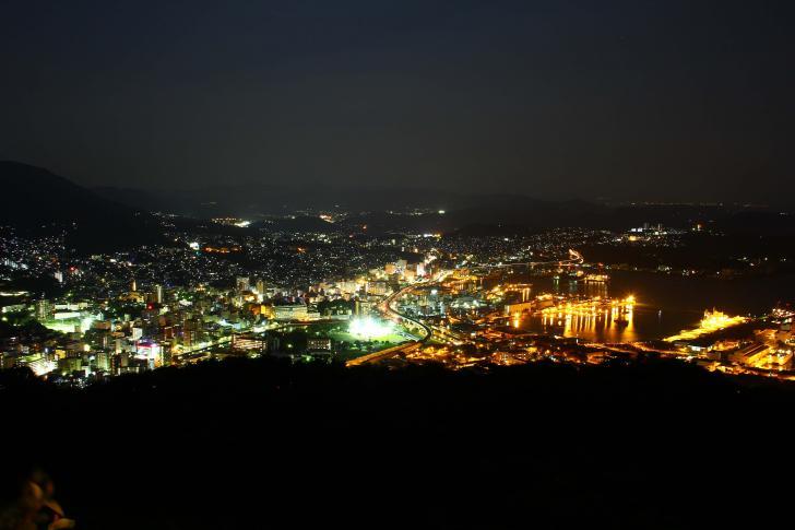 弓張岳からの夜景2