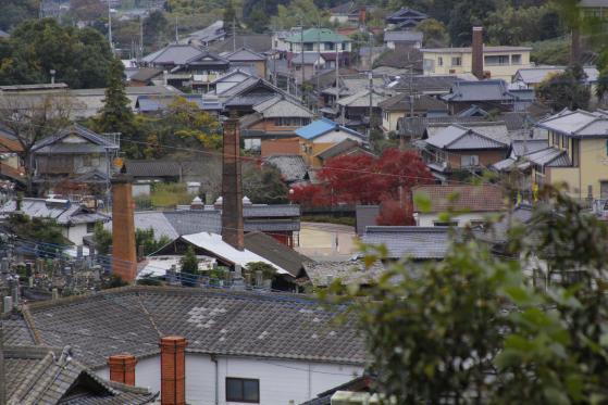 三川内皿山の風景