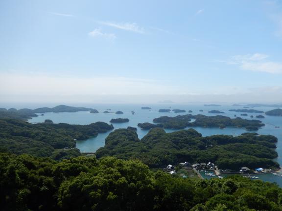 展海峰からの九十九島3