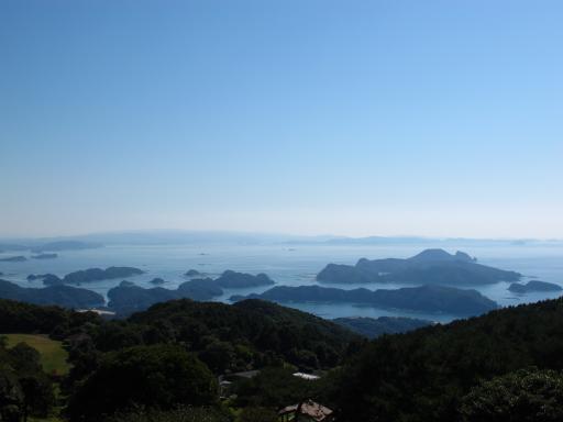 冷水岳公園展望台からの眺め