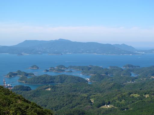 冷水岳公園展望台からの眺め2