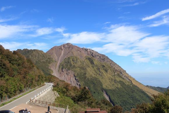 仁田峠第二展望所からの平成新山