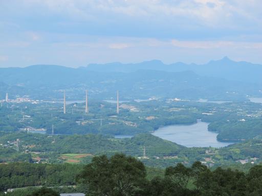 虚空蔵山公園展望所からの眺め