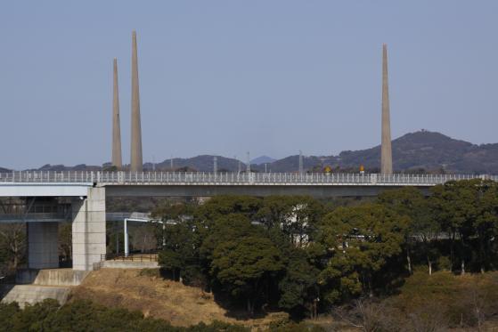 針尾無線塔(西海市側)