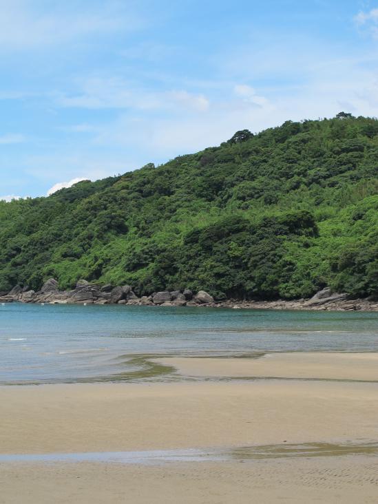 柳の浜海水浴場2