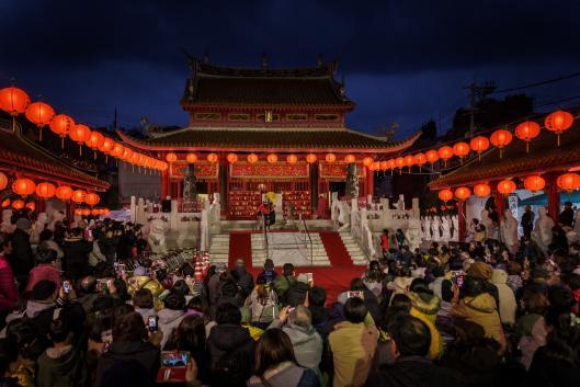 ランタン中国変面ショー2