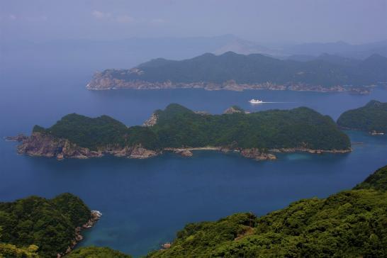 米山展望台からの眺望
