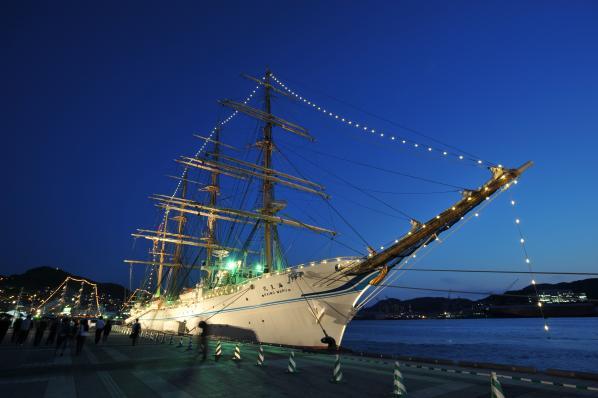 長崎帆船まつり ライトアップ2