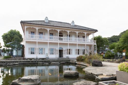 グラバー園 旧三菱第2ドックハウス(秋10月)
