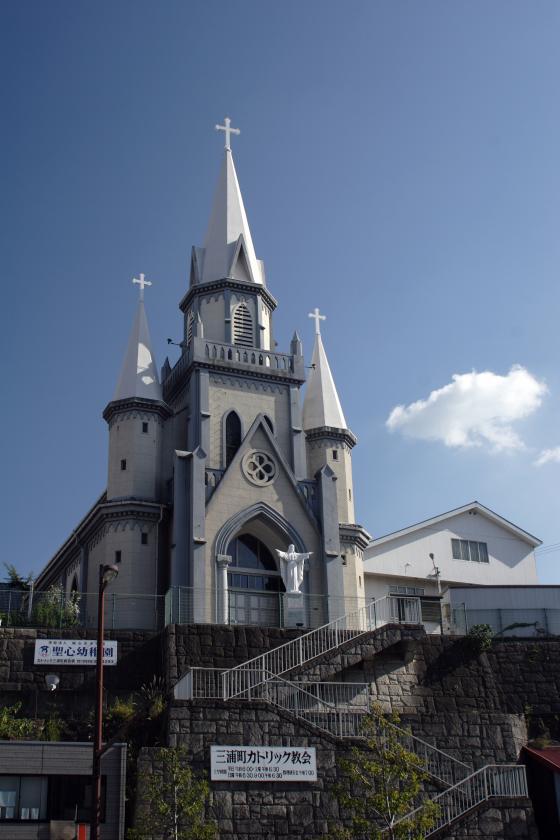 カトリック三浦町教会1©SASEBO