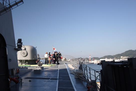 海上自衛隊艦艇一般公開1©SASEBO