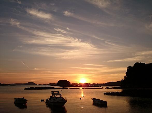 夕焼け空©SASEBO