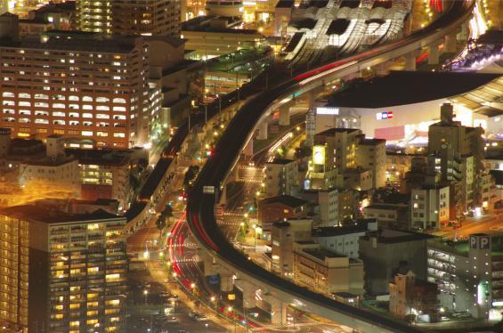 Shining city©SASEBO