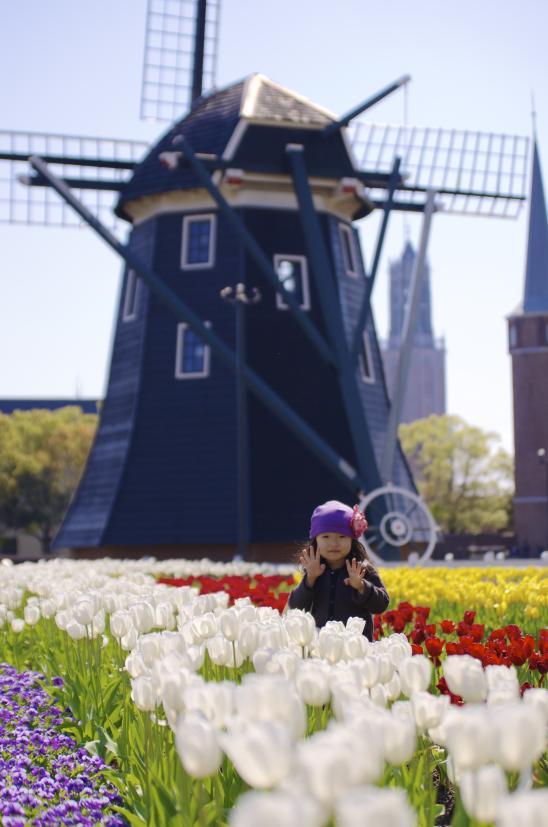 花に囲まれて©SASEBO