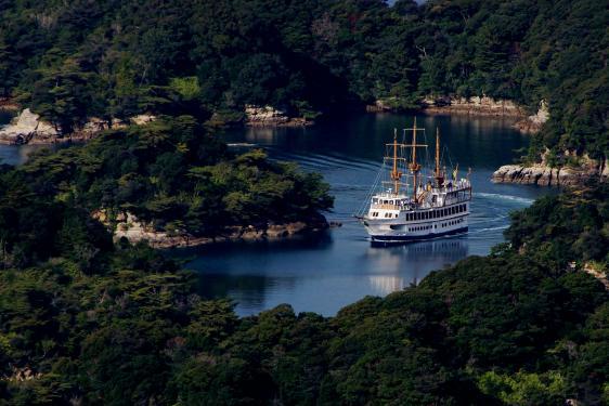島の緑・海の青に大事に包まれて©SASEBO