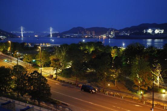 長崎県美術館からの夜景