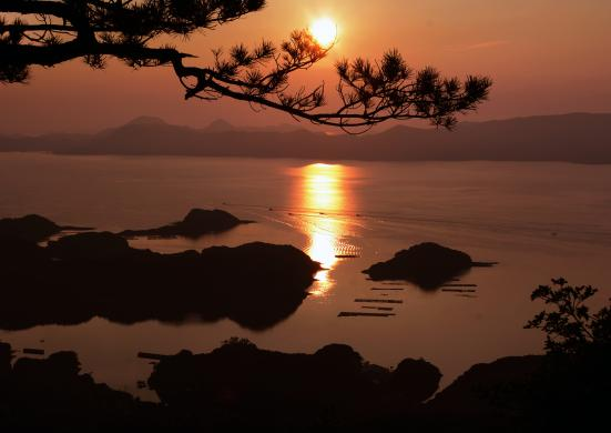 冷水岳展望台④©SASEBO