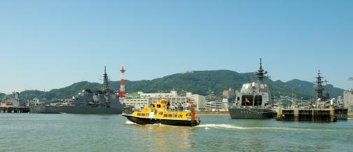 SASEBO軍港クルーズ1©SASEBO