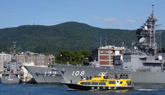 SASEBO軍港クルーズ4©SASEBO