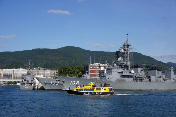 SASEBO軍港クルーズ5©SASEBO