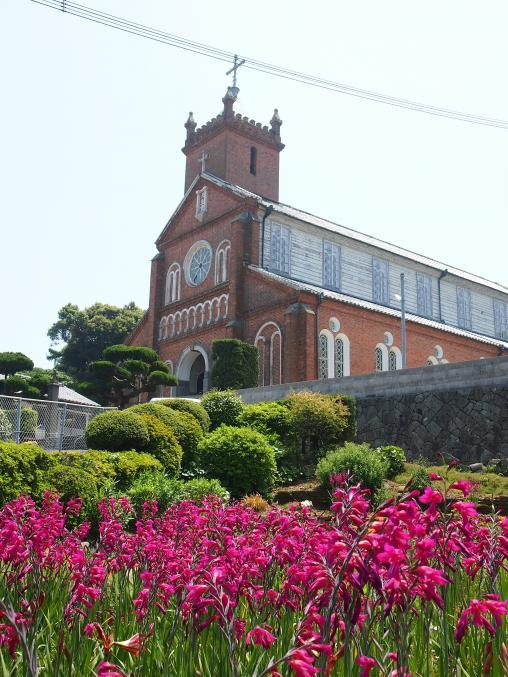 C-03 黒島天主堂 花と天主堂3©SASEBO