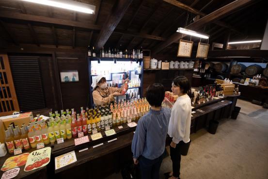 梅ヶ枝酒造3©SASEBO