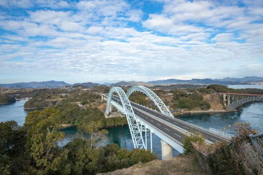 西海橋と新西海橋3©SASEBO