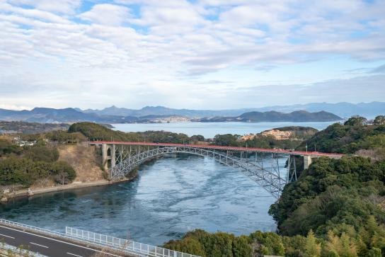 西海橋と新西海橋2©SASEBO