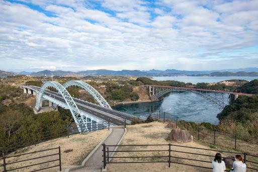 西海橋と新西海橋1©SASEBO