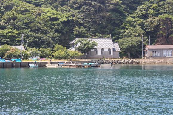 旧五輪教会(久賀島)