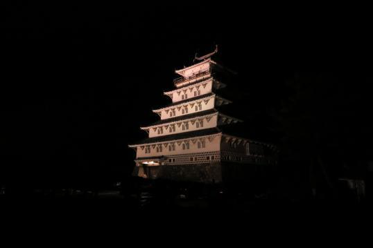 島原城 夜の陣1
