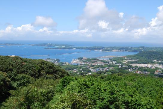岳ノ辻展望台からの眺め