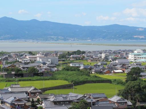 山田城址公園からの眺め(吾妻町)