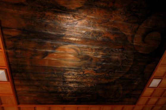 小浜神社の天井絵1