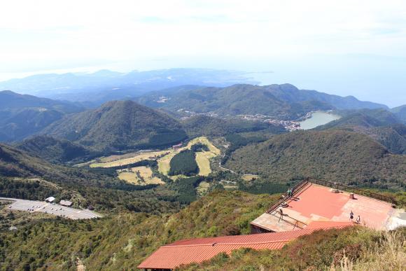 妙見岳山頂展望台