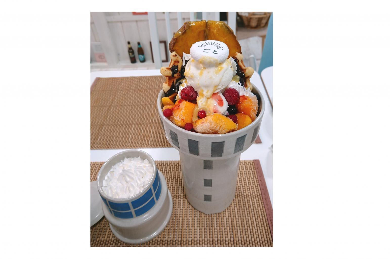◆大瀬崎灯台パフェ 1,480円(税込)-0