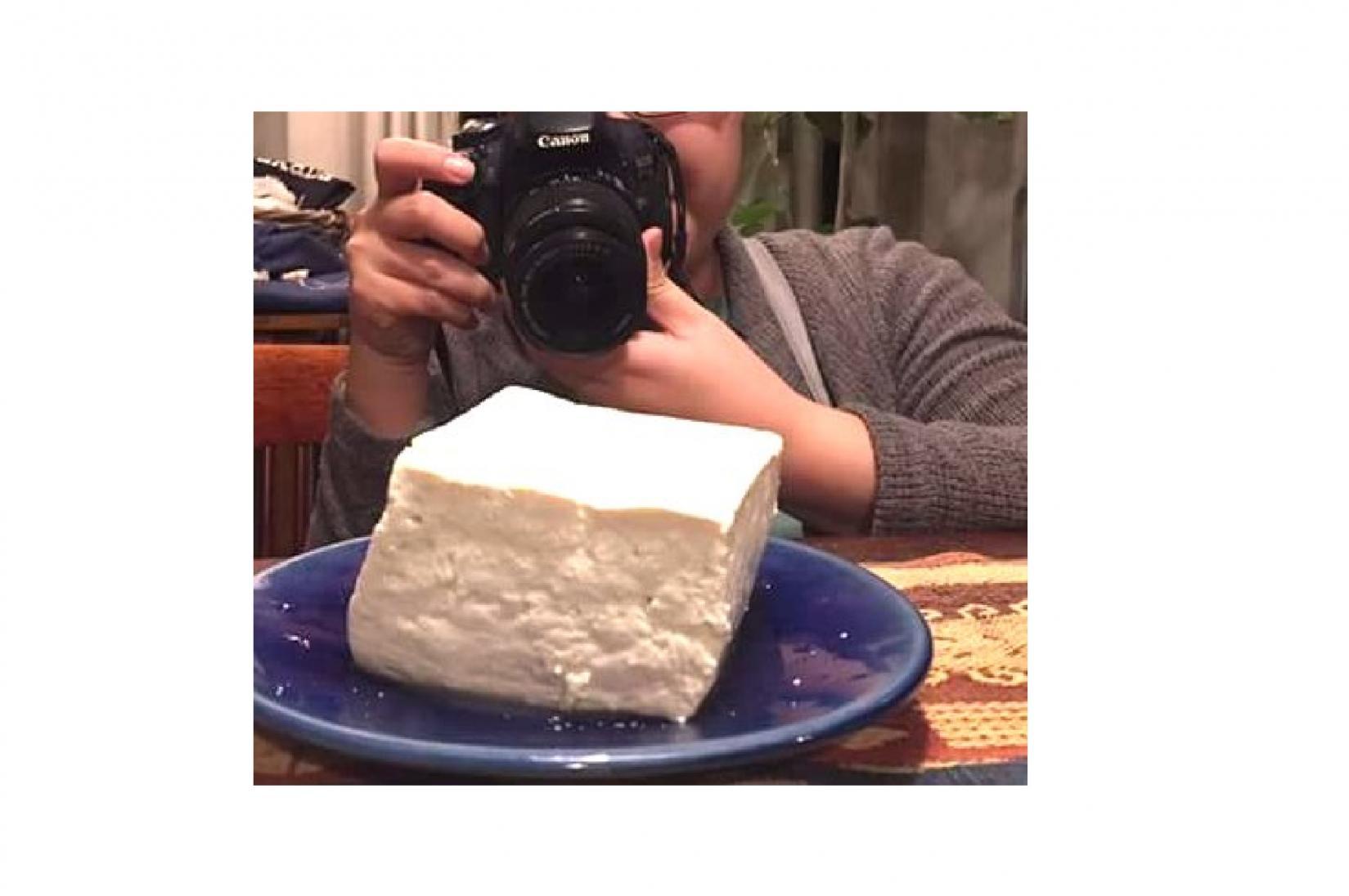 巨大豆腐にびっくり!!-0