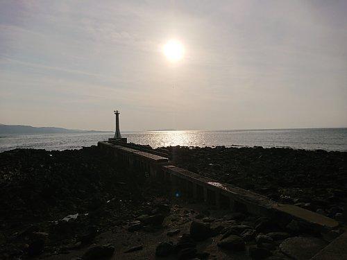 ◆瀬詰崎灯台の夕暮れ-0