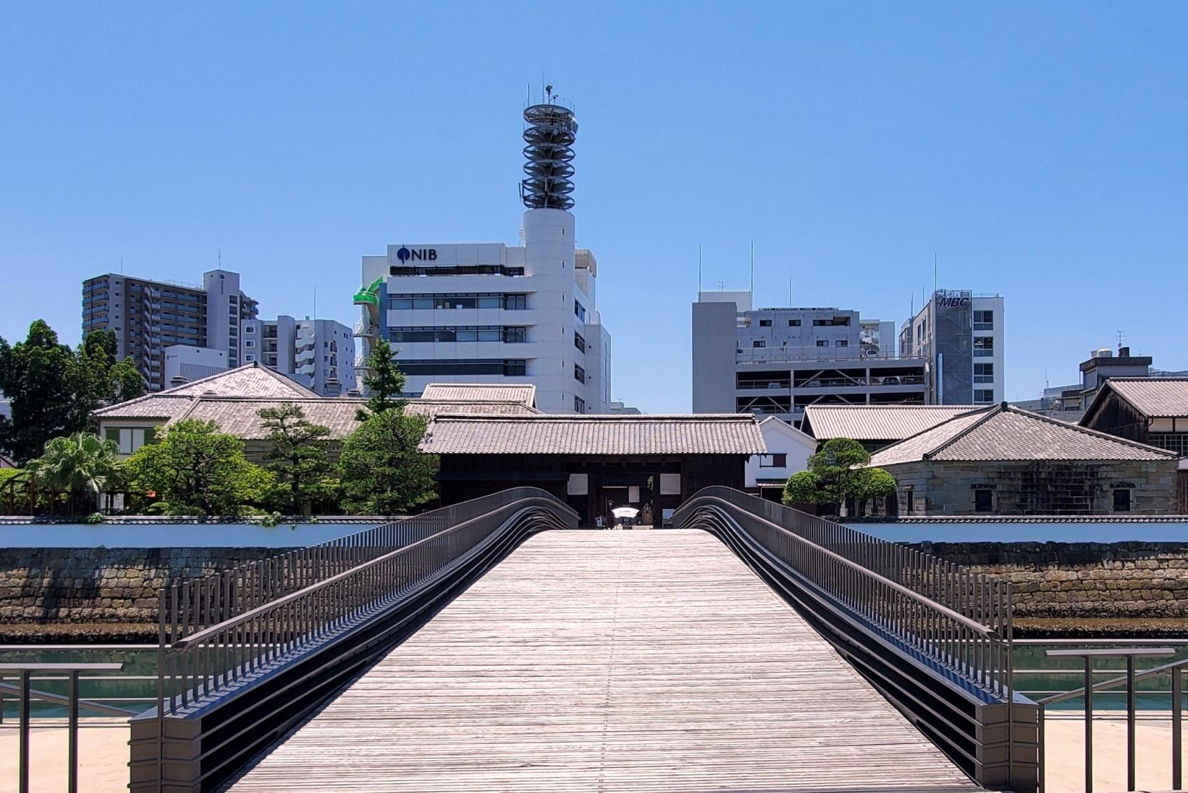 出島表門橋(長崎市)-0