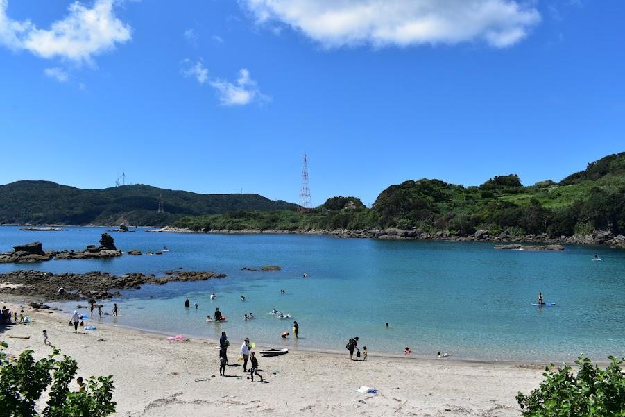 真っ白なサラサラの砂浜にうっとり!尻久砂里海浜公園-0