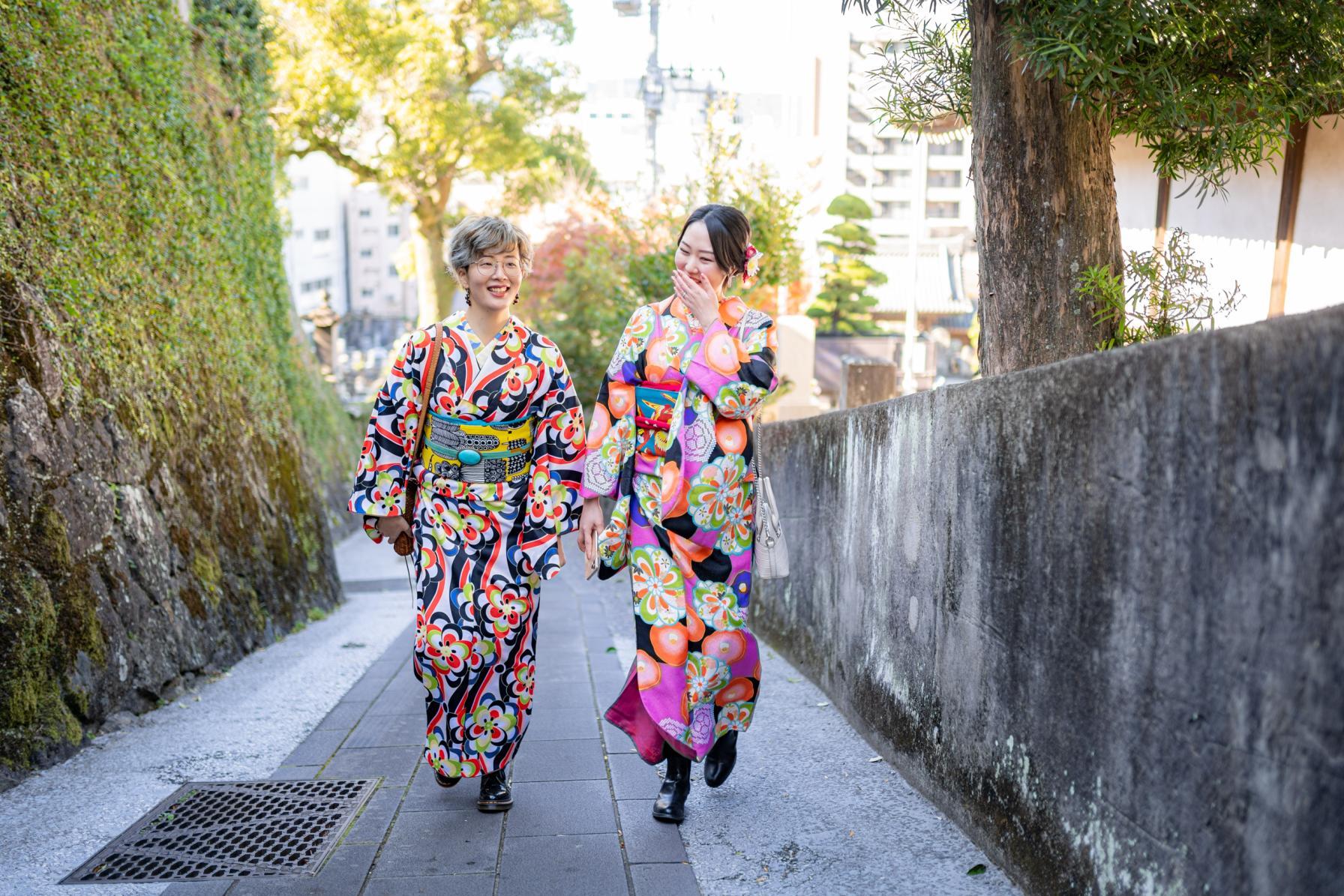 坂の町・長崎では、至るところにフォトスポットが-1