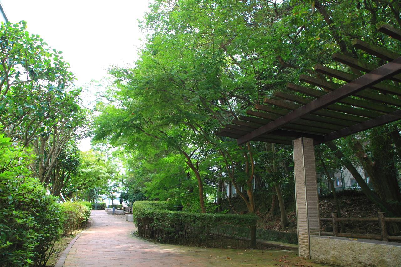 水と、光と、緑が美しい諫早自慢の散策路「高城回廊」-3