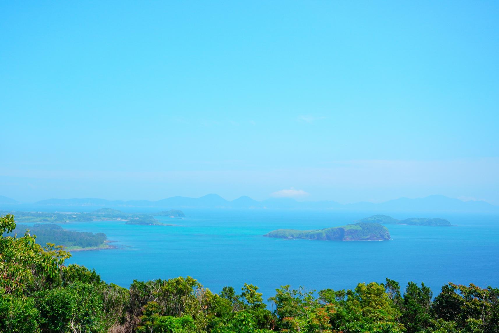 島々を一望できる「斑島園地」-1